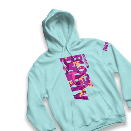 Block Party Mint Hoodie