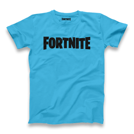 Fortnite Black/Blue Logo Tee