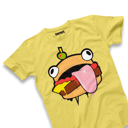 Durrr Burger Yellow Oversized Tee