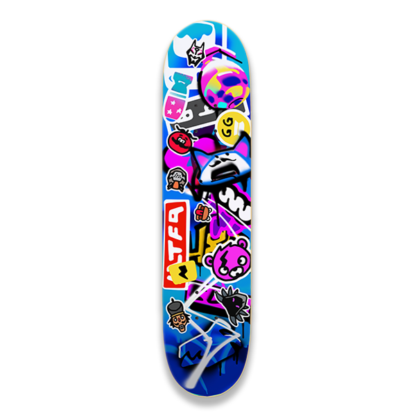 Graffiti Skate Deck
