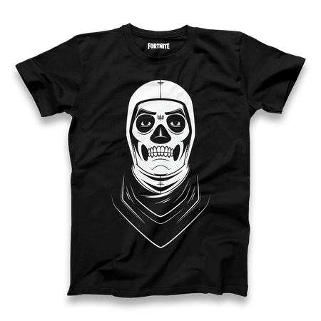 Skull Trooper Tee - Black