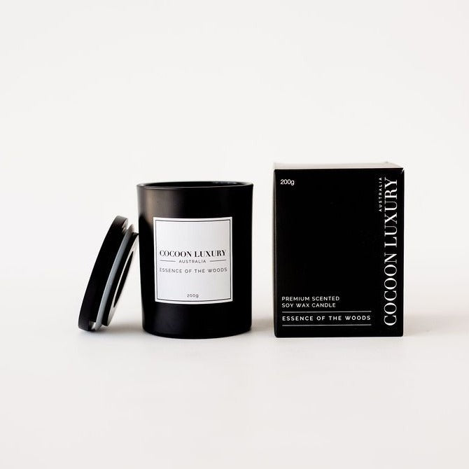 Cocoon Luxury Candle - Essence of the Woods