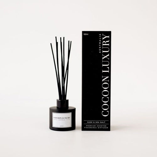 Cocoon Luxury Diffuser - Sage and Sea Salt