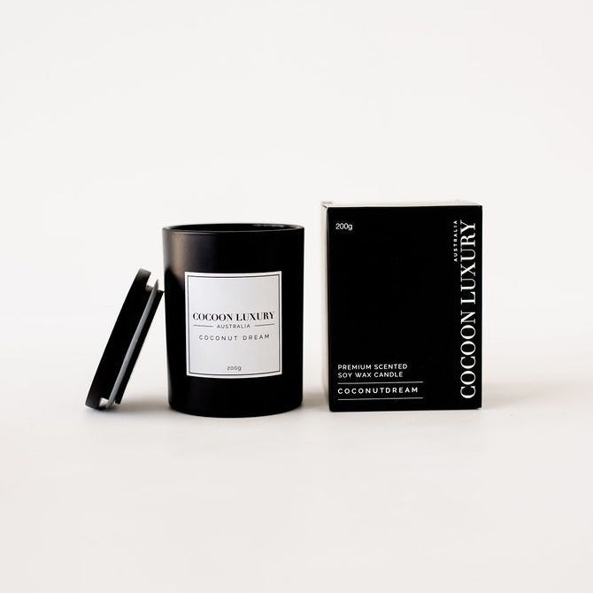Cocoon Luxury Candle - Coconut Dream