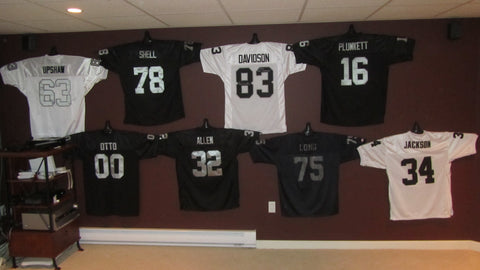 Jerseygenius Jersey Hanger Photos Jersey Display Ideas