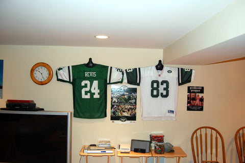 how to display a jersey