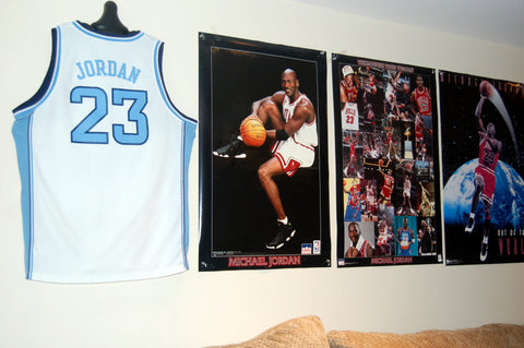 display basketball jersey