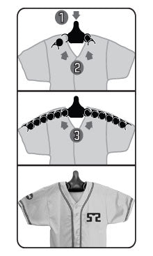 JerseyGenius® hanging instructions