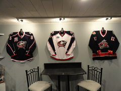 How To Easily Hang Your Jerseys On A Wall W Jerseygunius