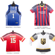 JerseyGenius®  The Patented Adjustable Jersey Display