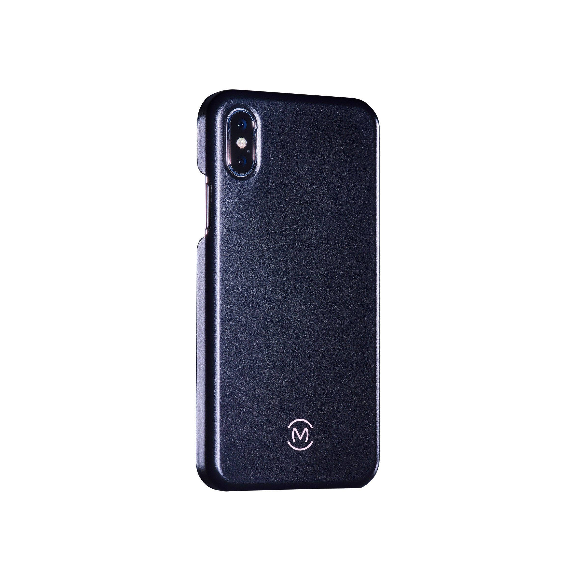 Black Matte Obsidian Phone Case by Movement for iPhone X (Right)