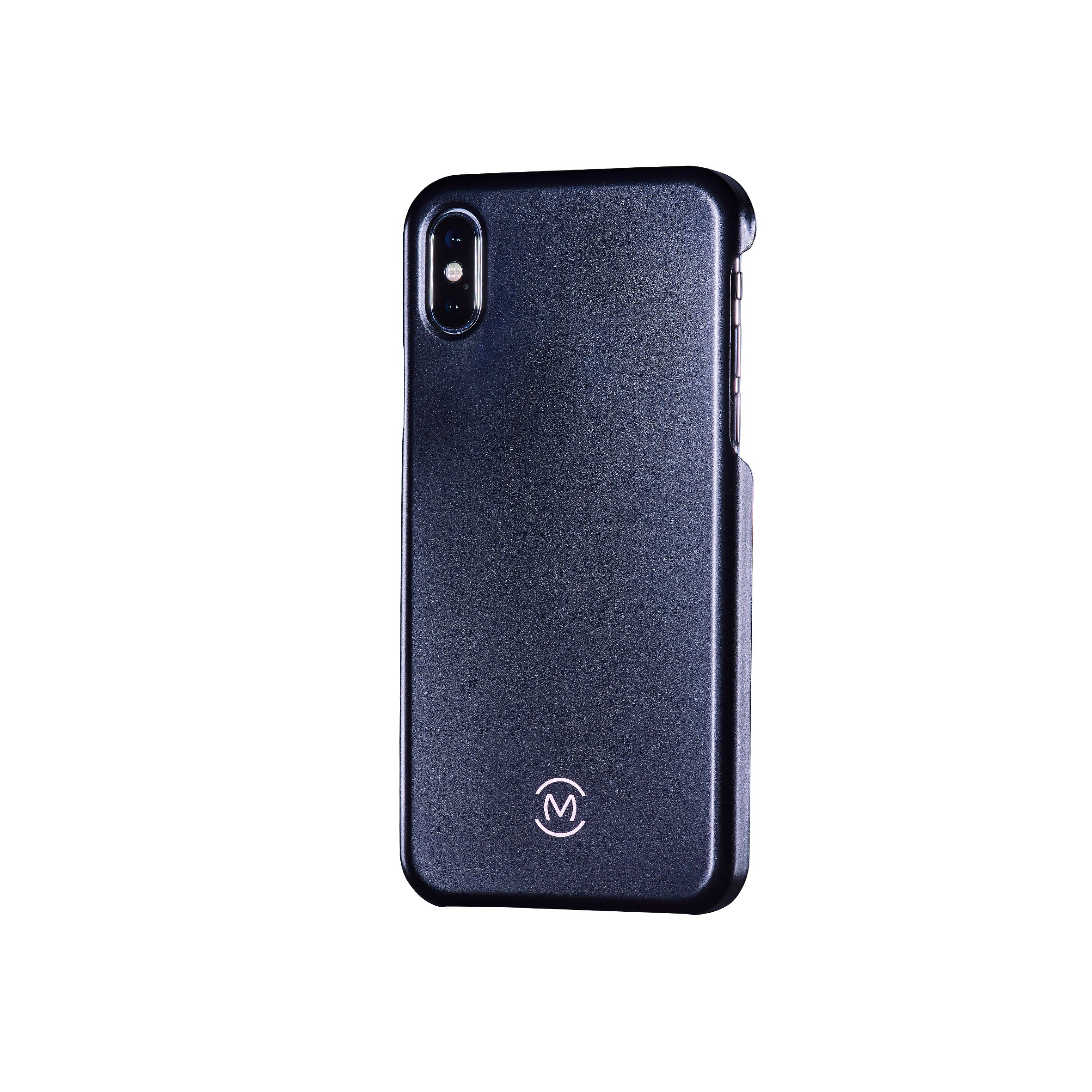 Black Matte Obsidian Phone Case by Movement for iPhone X (Left)