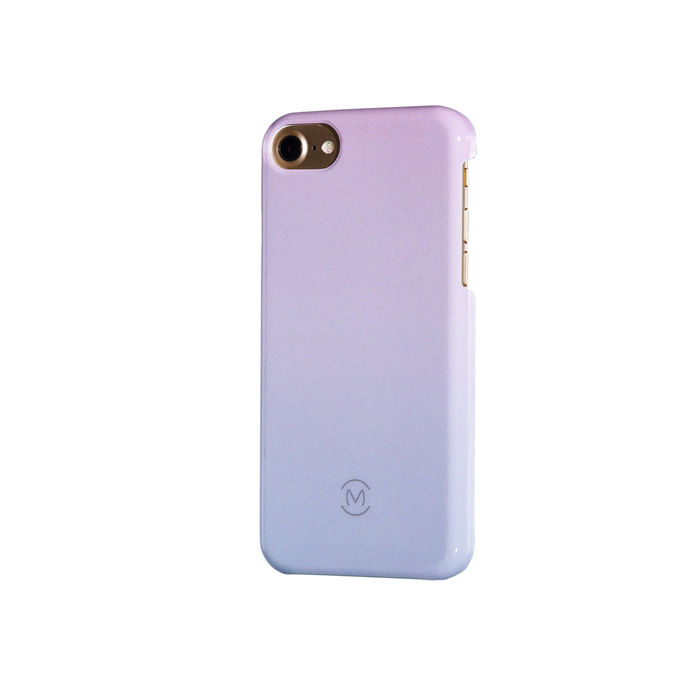 Pink-Blue Gradient Arctic Dusk Recyclable Phone Case by Movement for iPhone 8, iPhone 7, iPhone 6s, and iPhone 6 (Right)