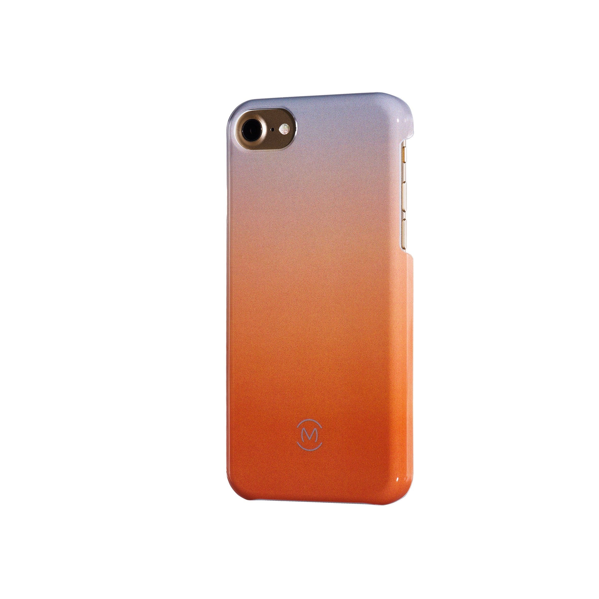 Gray-Orange Gradient Harvest Moon Recyclable Phone Case by Movement for iPhone 8, iPhone 7, iPhone 6s, and iPhone 6 (Right)