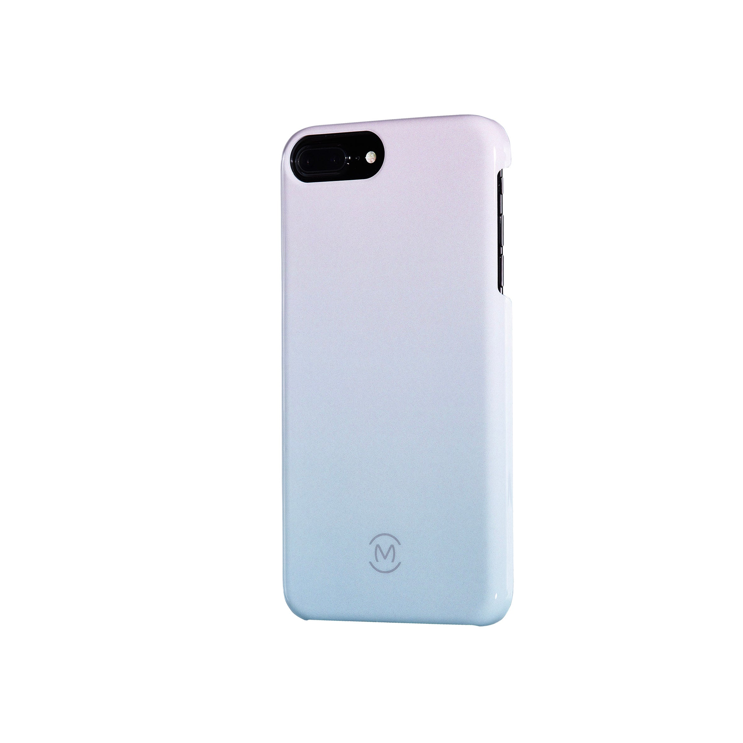 Icy Blue Gradient Sea Ice Recyclable Phone Case by Movement for iPhone 8 Plus, iPhone 7 Plus, iPhone 6s Plus, and iPhone 6 Plus (Right)