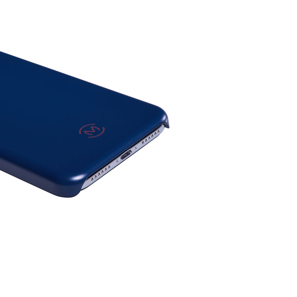 Navy Matte Lapis Lazuli Phone Case by Movement for iPhone X (Flat)