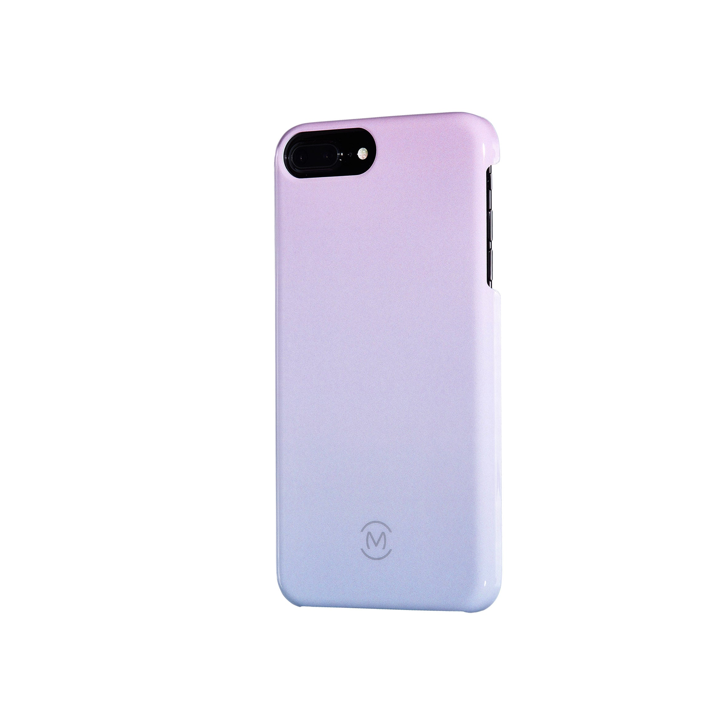 Pink-Blue Gradient Arctic Dusk Recyclable Phone Case by Movement for iPhone 8 Plus, iPhone 7 Plus, iPhone 6s Plus, and iPhone 6 Plus (Right)