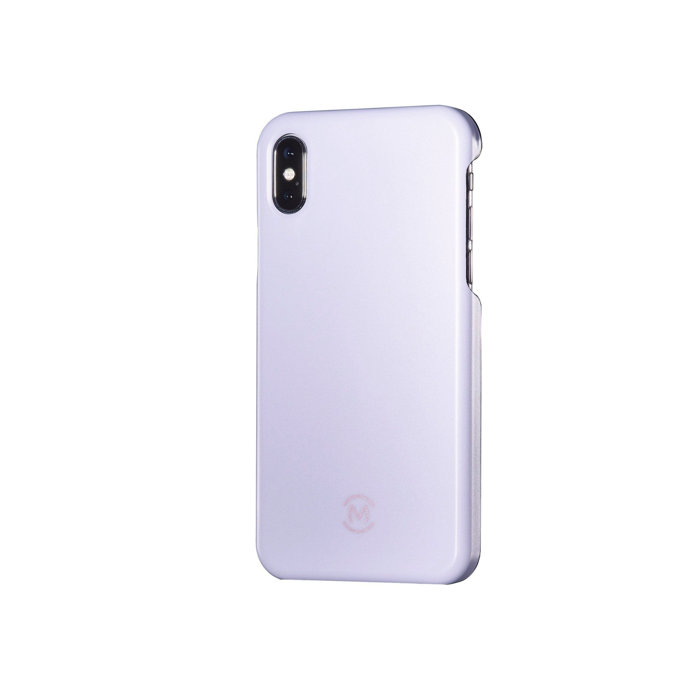 Lavender Matte Moonstone Phone Case by Movement for iPhone X (Left)