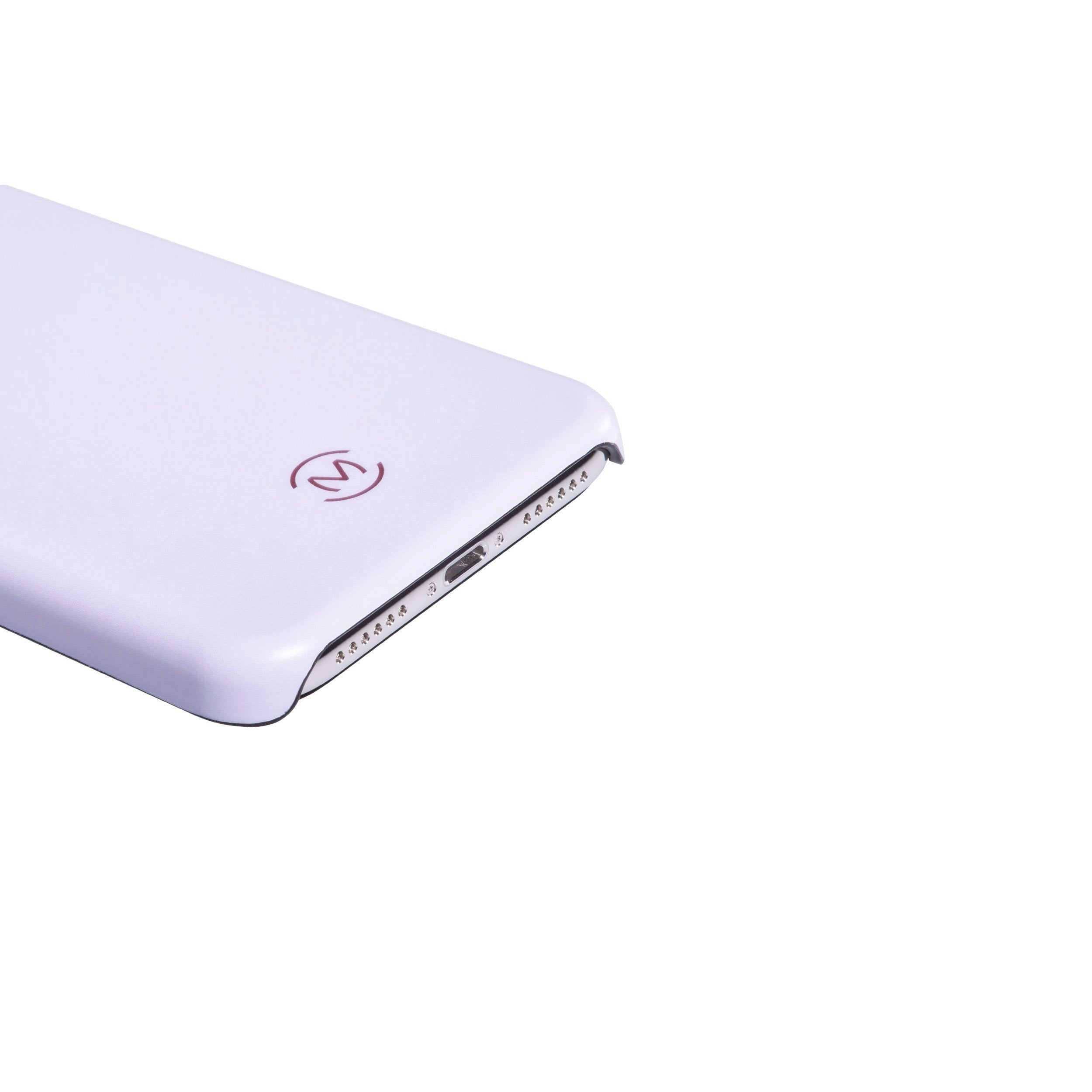 Lavender Matte Moonstone Phone Case by Movement for iPhone X (Flat)