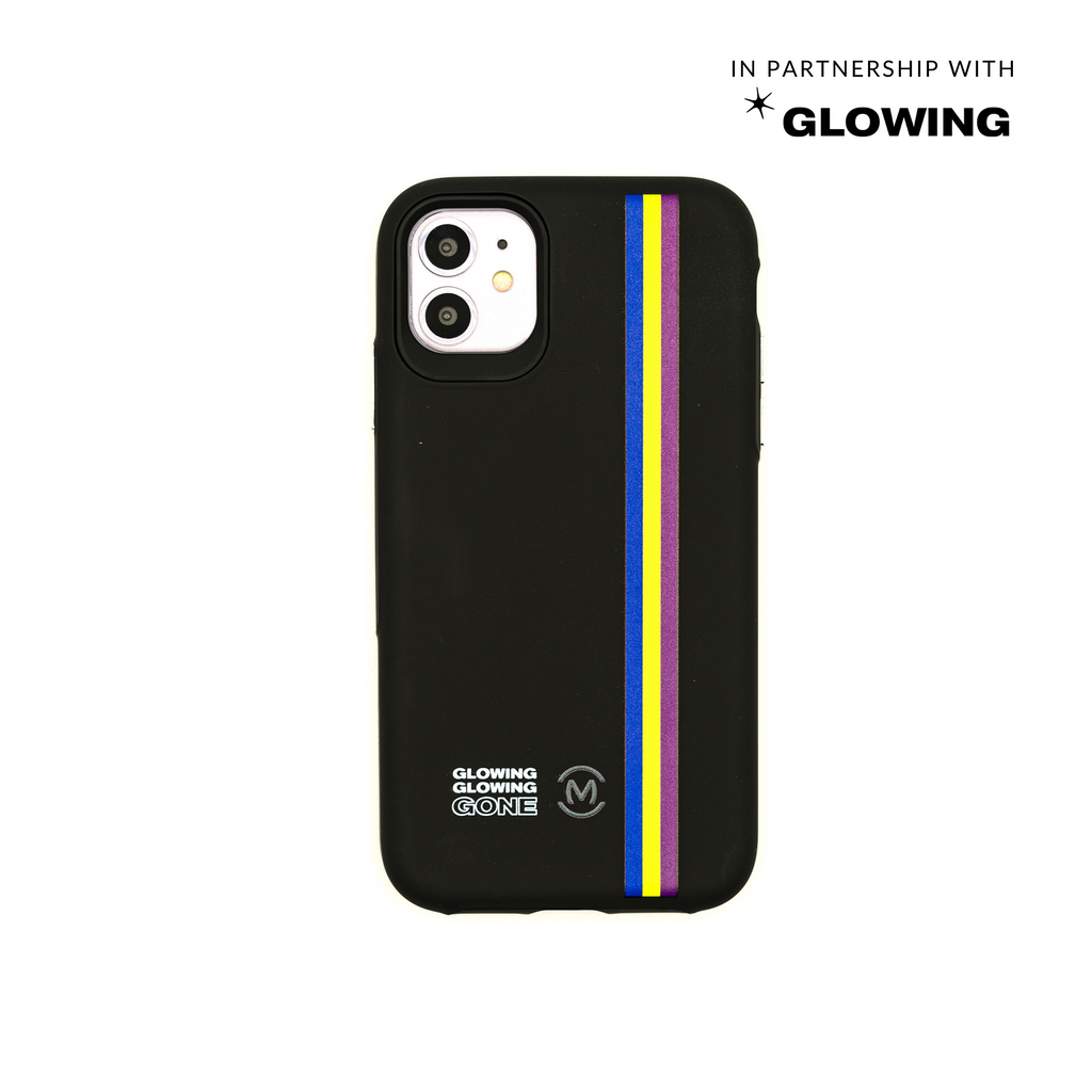Glowing Stripes Case for iPhone 11