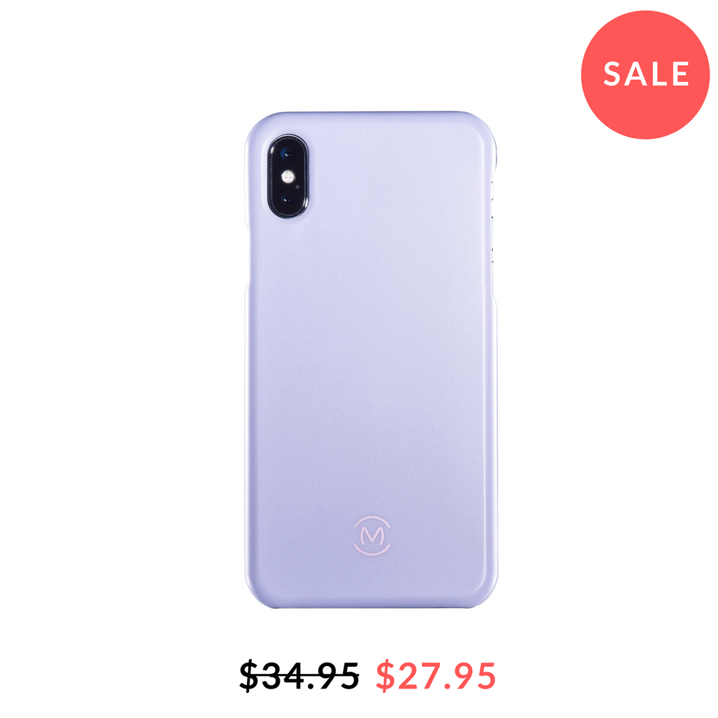 Moonstone Lavender Matte Case for iPhone X