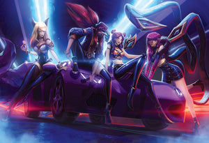 League of Legends (KDA) Art Print