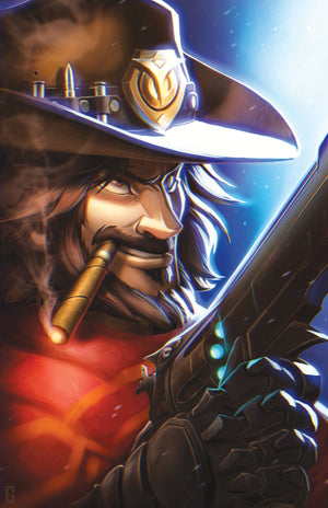 Mccree (Overwatch) Art Print
