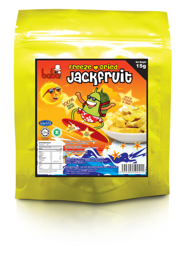 Freeze Dried Jackfruit 15g