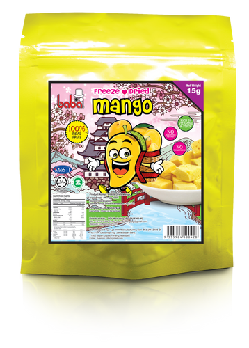 Freeze Dried Mango 15g
