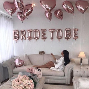 "Ballons ""Bride To Be"""