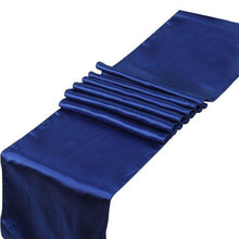 Chemin de table en satin -10 pcs