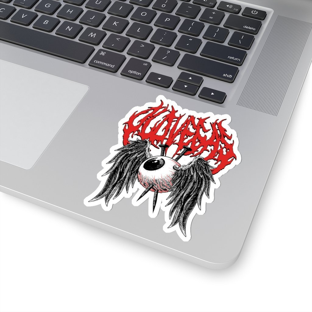 Dead Eyes - Kiss-Cut Sticker