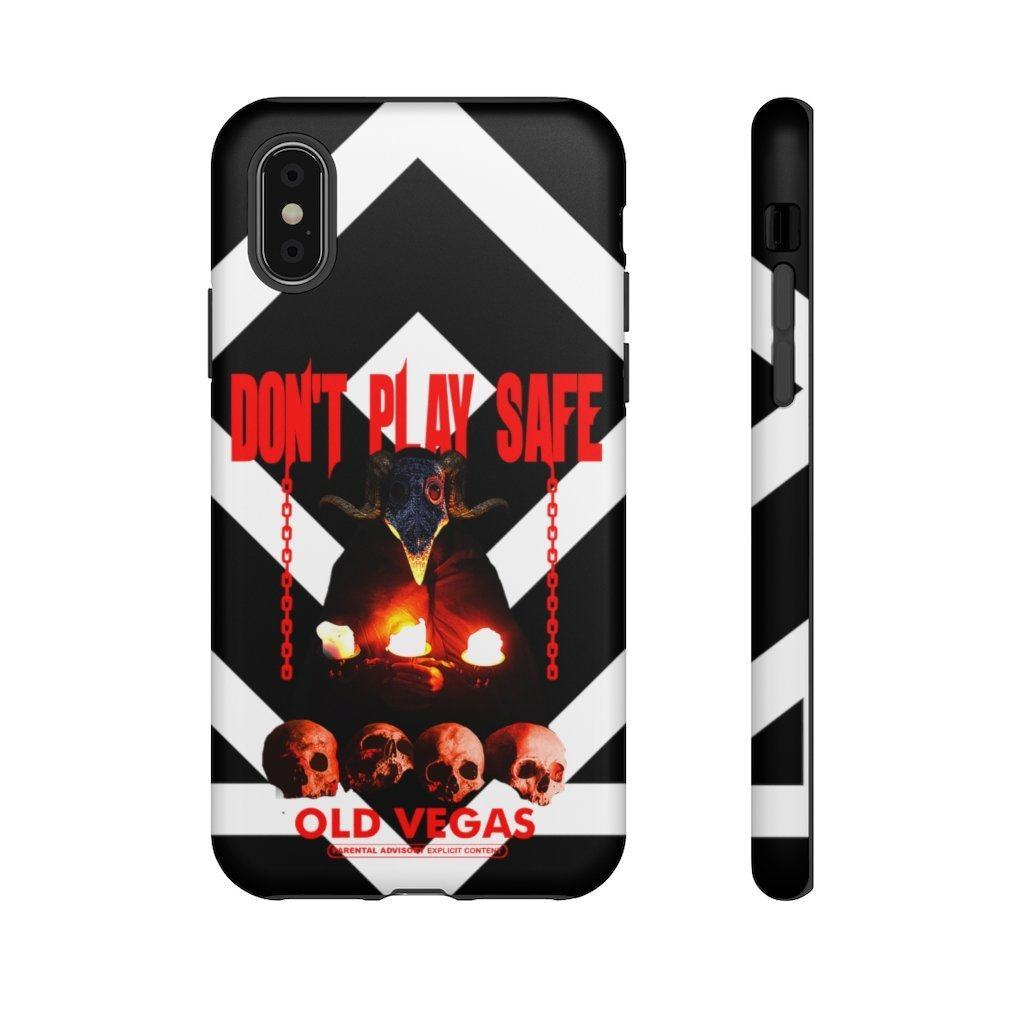 The Dark Master - Black & White Tough Phone Case