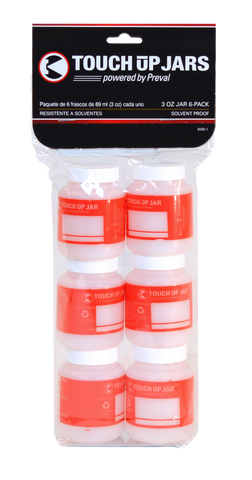 6 Pack of 2.94oz Touch-up Jars   (SKU# 0270)