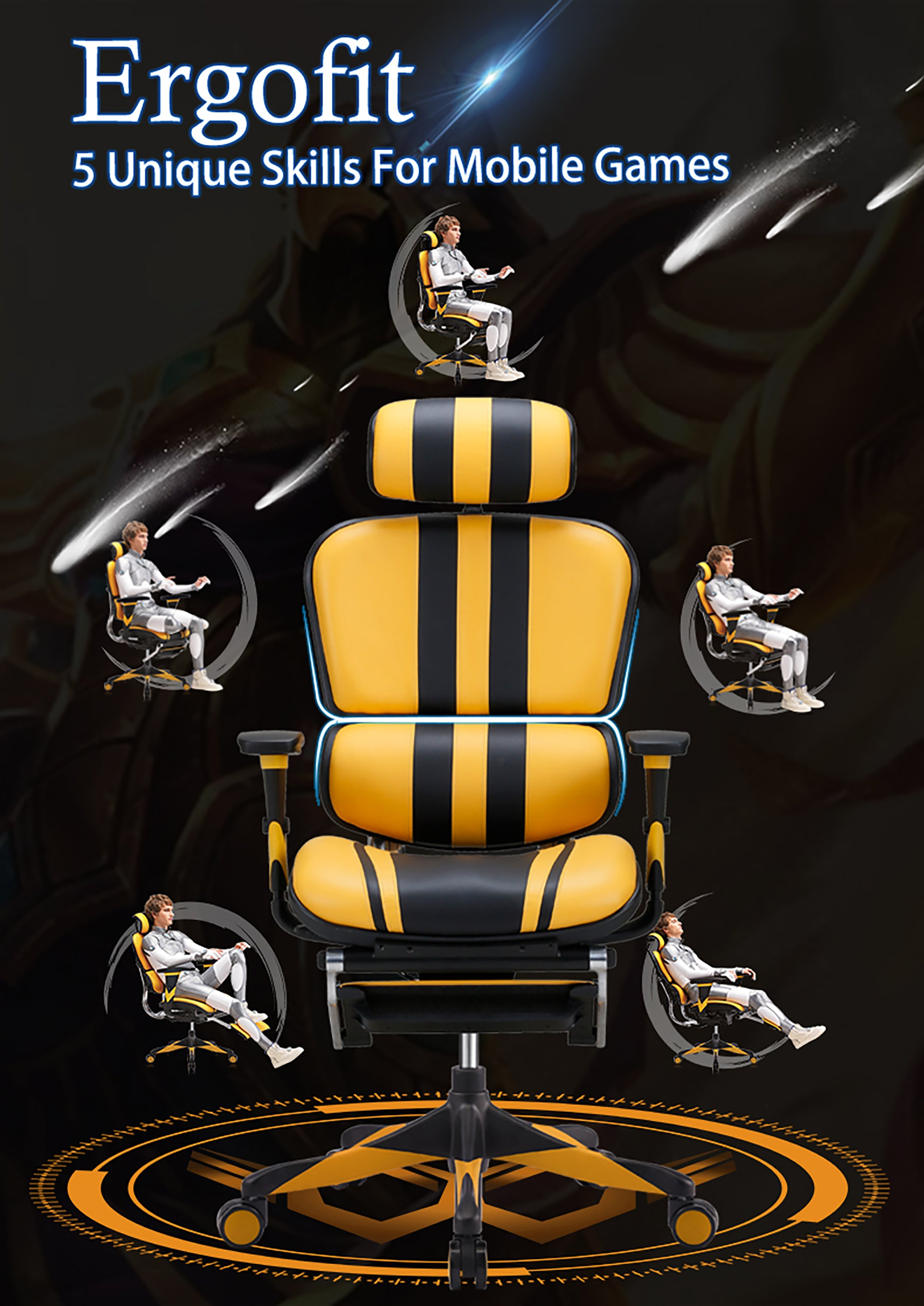Ergofit Gaming Chair Product Description