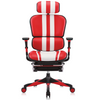Ergofit Mars Gaming Red/White Leather (5 Years Warranty)