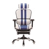 Ergohuman Elite Mars Gaming Blue/White Leather (5 Years Warranty)