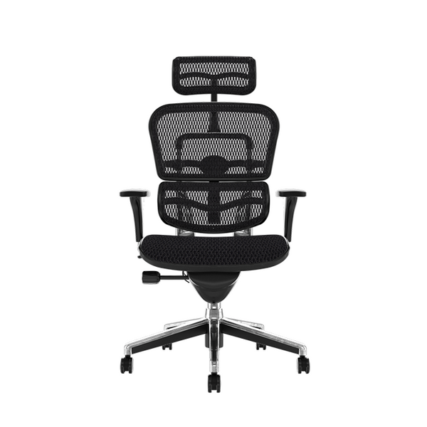 Ergohuman Classic With Headrest Ergonomic Office Chair Front View