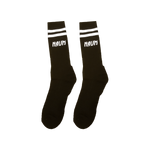 NAUM Black Logo Socks