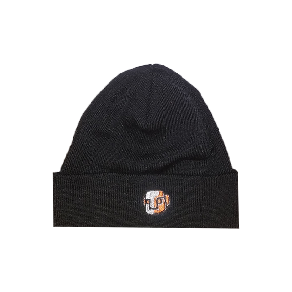 NAUM Orange Stone Face Beanie