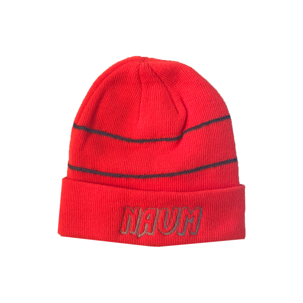 NAUM 3M Orange Logo Beanie
