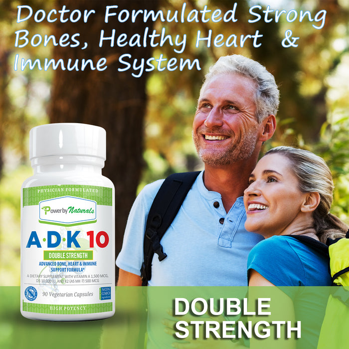 ADK 10 Vitamins - Double Strength - Power By Naturals