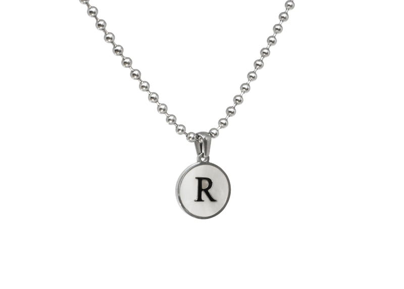 Initial Necklace (Ball Chain)