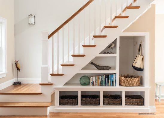 Delicieux Say Goodbye To Wasted Space And Hello To Your Beautifully Efficient Stair  Remodel. That Valuable Real Estate Below The Staircase Has Often Been  Ignored In ...