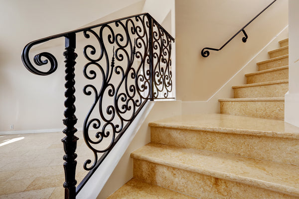 deciding on iron balusters