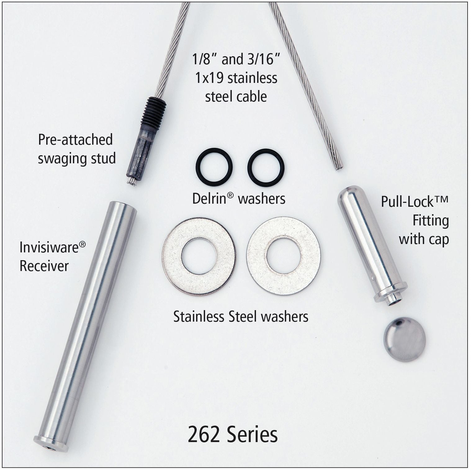 Series 262 Ultra Tec Cable Railing Kit | Stair Parts ...