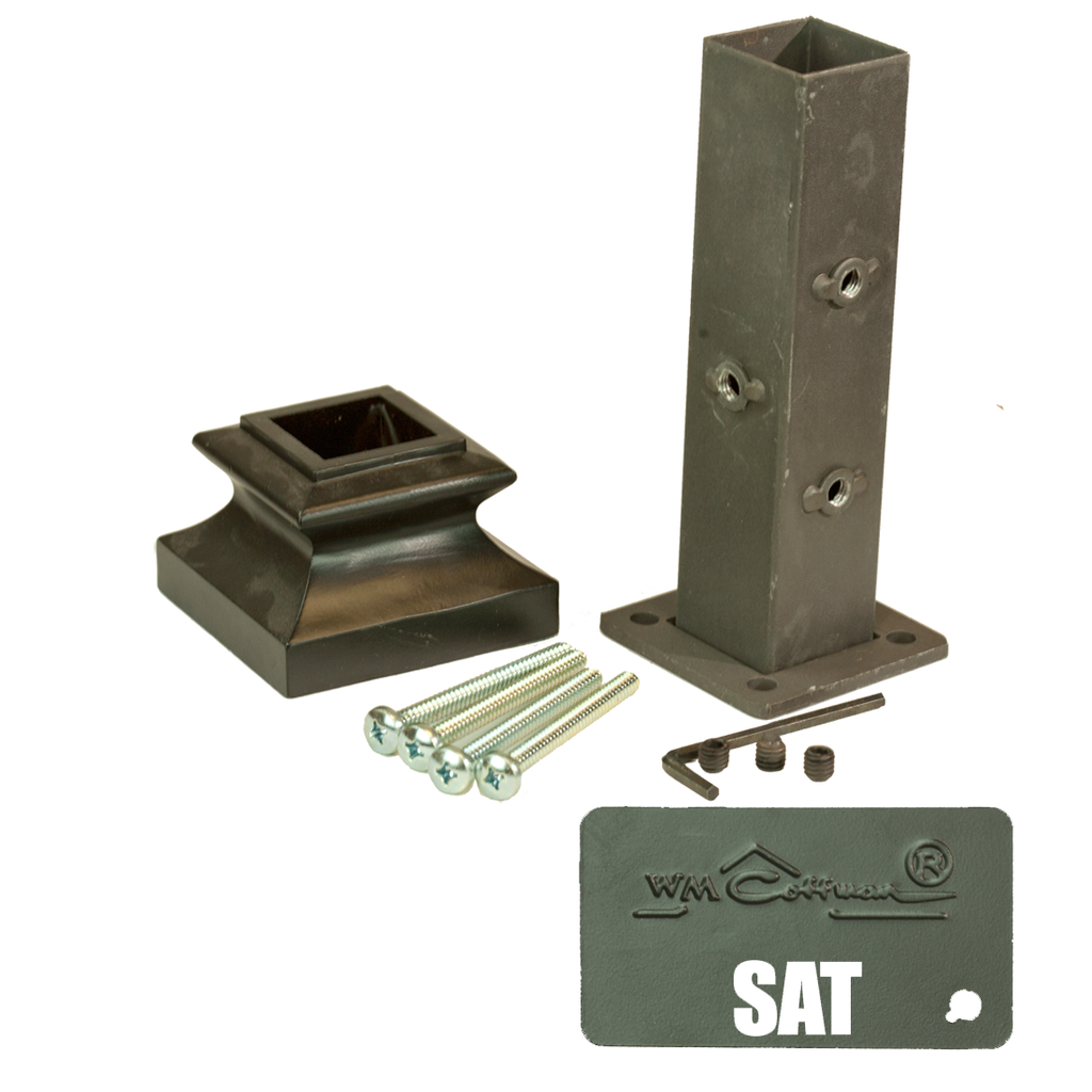 Iron Newel Attachment Kit  C-2360 | Stair parts