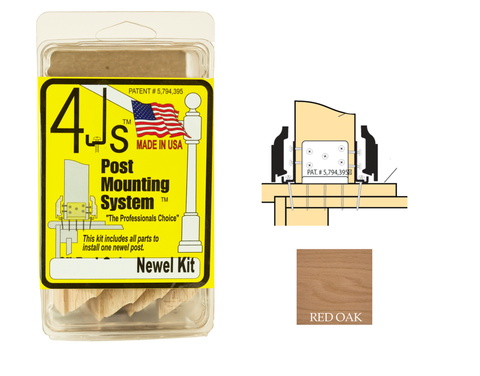 "3"" 4J Newel Mounting Kit 