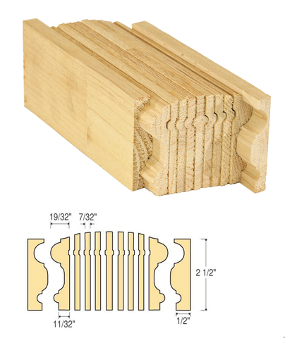 Bristol Bending Rail : C-6116 | Stair parts
