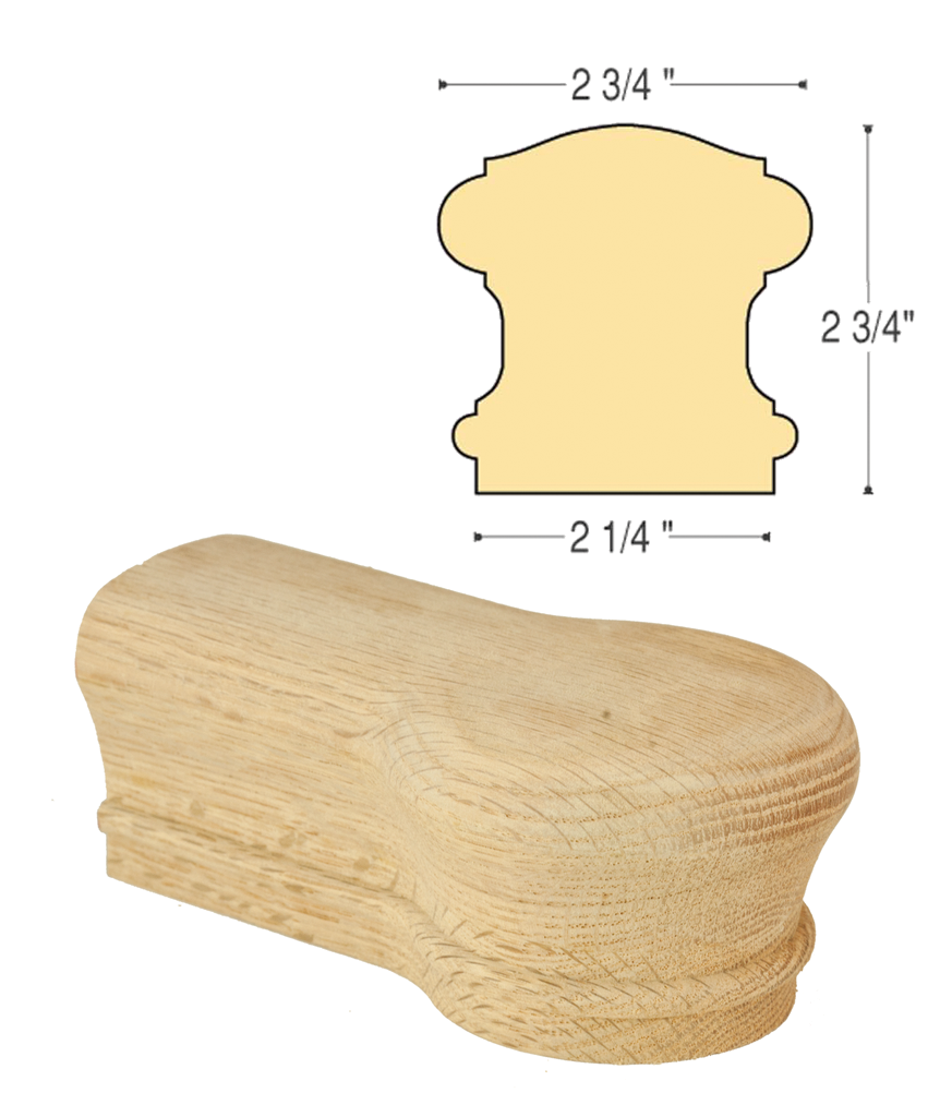 Bristol Opening Cap : C-7119 | Stair parts